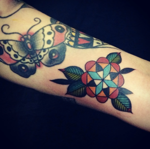 Tattoos by Rachie T, Two Hands, Auckland and Rob Mopar, Lucky 13, Burwood.